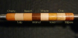 Woods Sample Stick