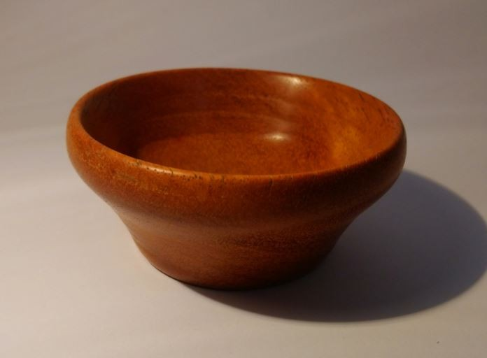 Iroko bowl and Valentines pen
