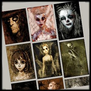 ReBorne Art Gothic Digital Art Gallery Image